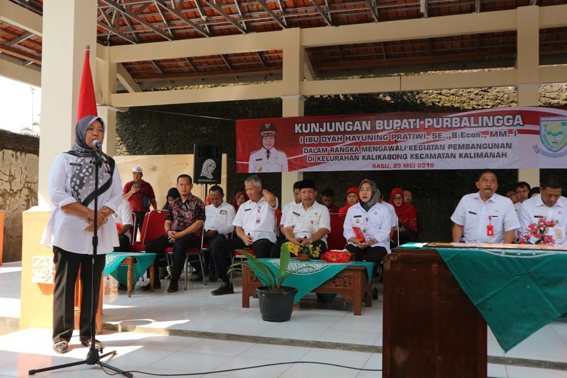 Tahun 2019, Kelurahan Kalikabong Dapatkan DAU Tambahan Sebesar Rp 465 Juta